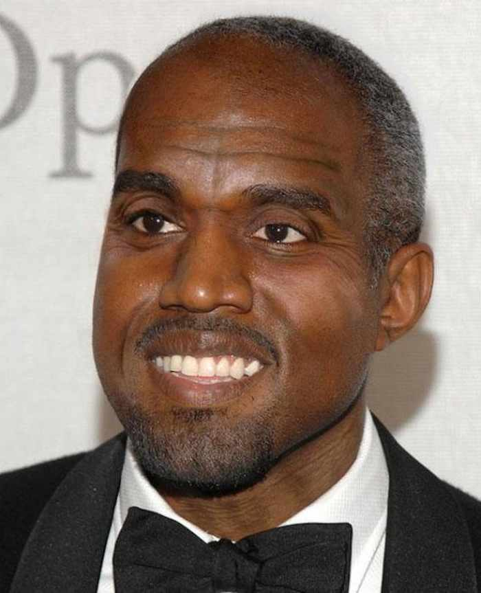 Kanye-West - How Celebrities Will Look Like When They Are Old -25 Photos