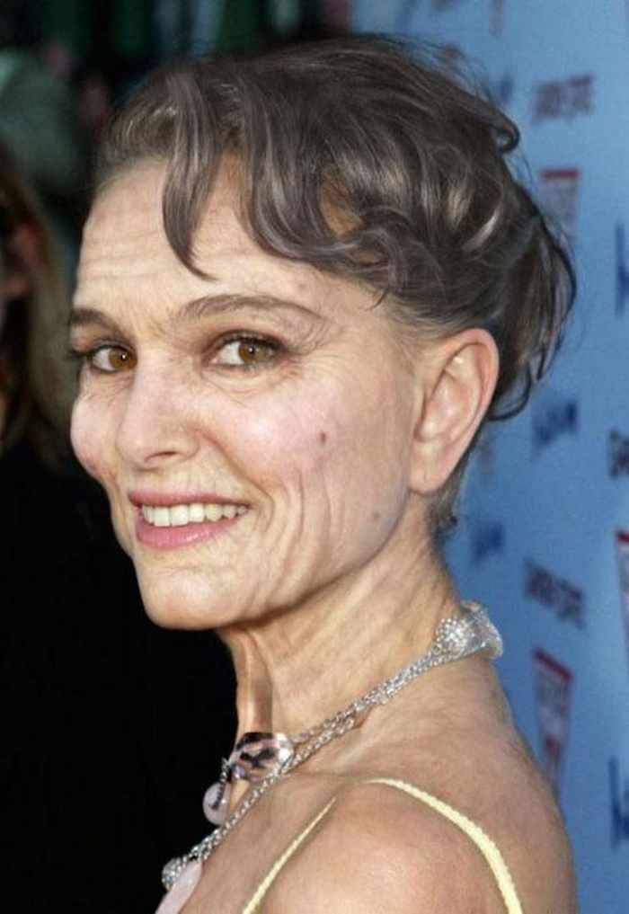 Natalie-Portman - How Celebrities Will Look Like When They Are Old -25 Photos