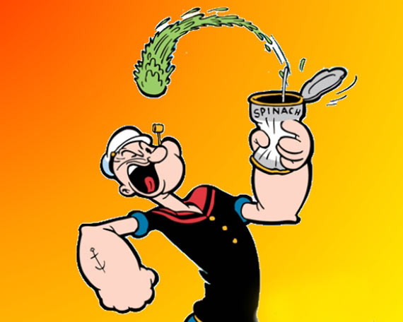 Funny Image of Real Popeye the Sailor That Will Make You Laugh