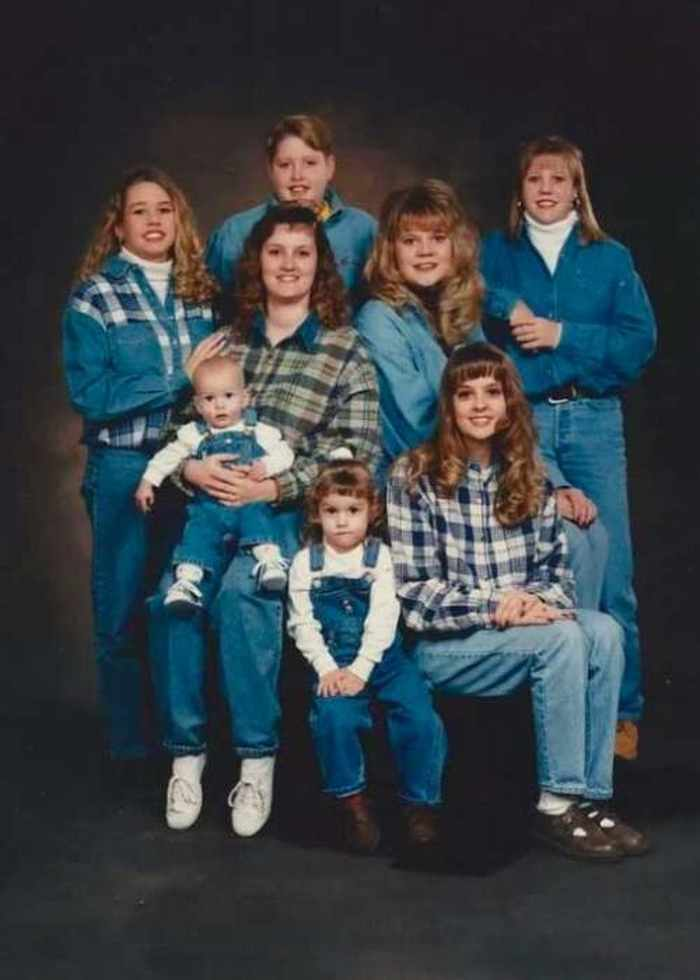 Awkward Family Photos Overloaded With Denim 30 Pics