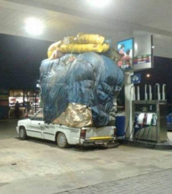 Meanwhile Funny Awkward Moments At Gas Station - 39 Photos -11