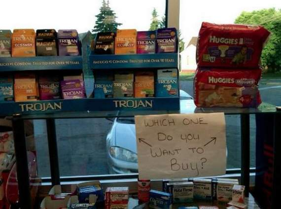 Meanwhile Funny Awkward Moments At Gas Station - 39 Photos -12
