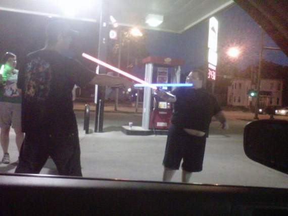 Meanwhile Funny Awkward Moments At Gas Station - 39 Photos -35
