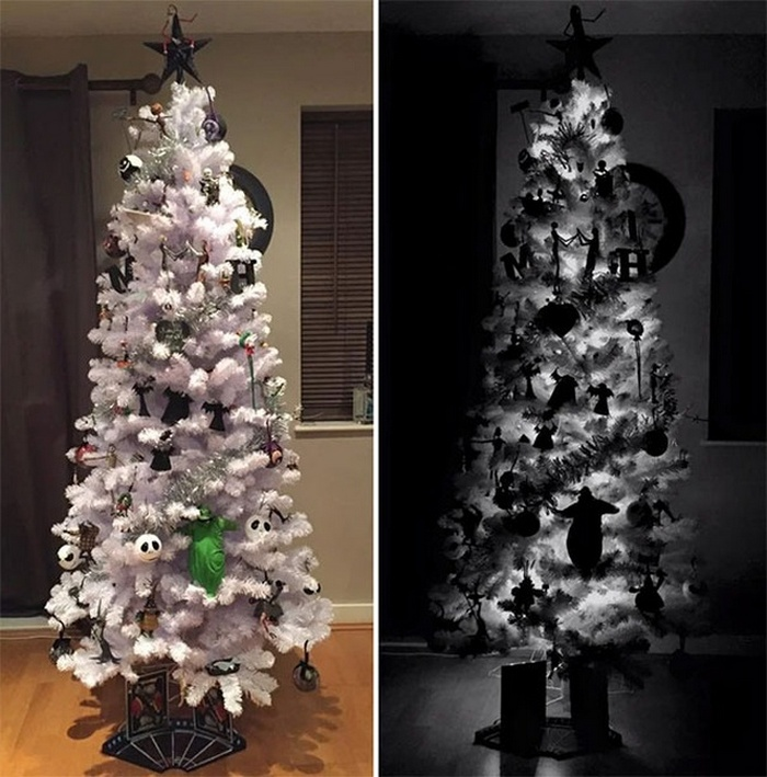35 Creative Christmas Tree Ideas That You Can DIY This Christmas-14