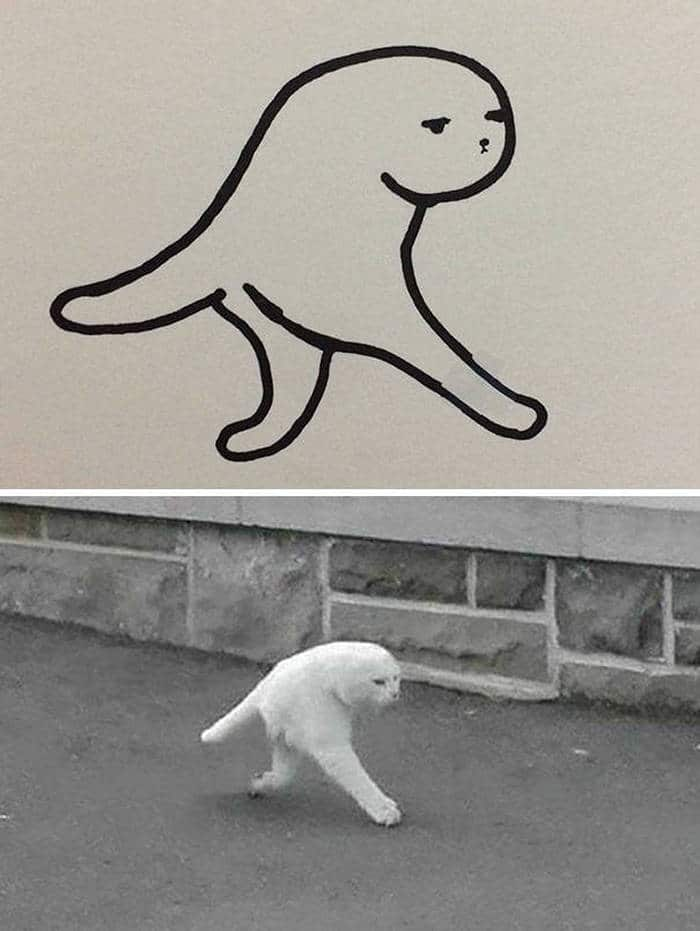 20 Epic Fail Cat Drawings That You Never Imagine -02