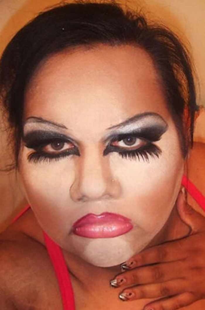 55 Makeup Disasters That Actually Went Horribly Wrong -14
