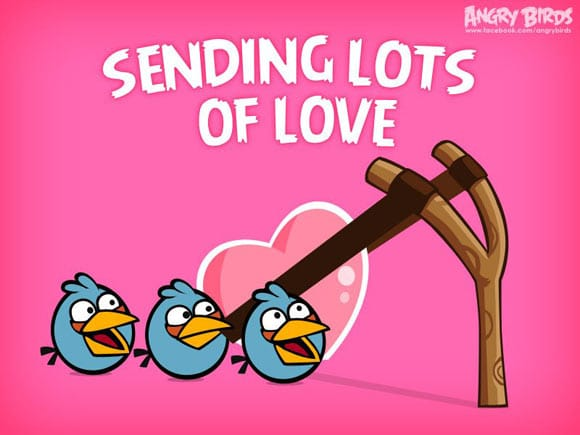 Sending Lots Of Love - Angry Birds Valentine's Day Special