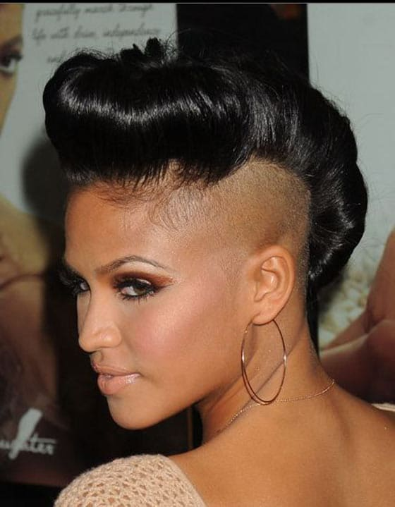 33 Pictures of Shaved Hair Crazy Celebrities Will Shock You -22