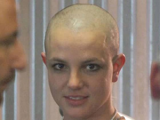 33 Pictures of Shaved Hair Crazy Celebrities Will Shock You -29