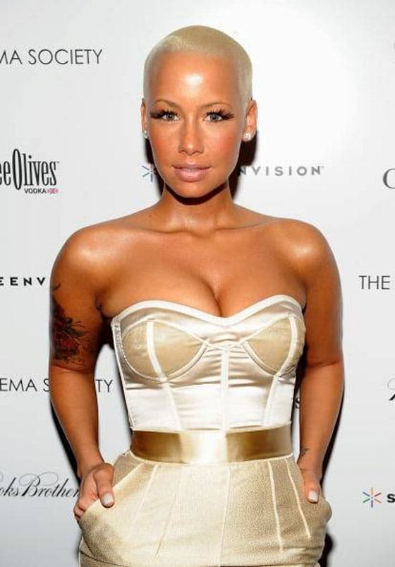 33 Pictures of Shaved Hair Crazy Celebrities Will Shock You -31
