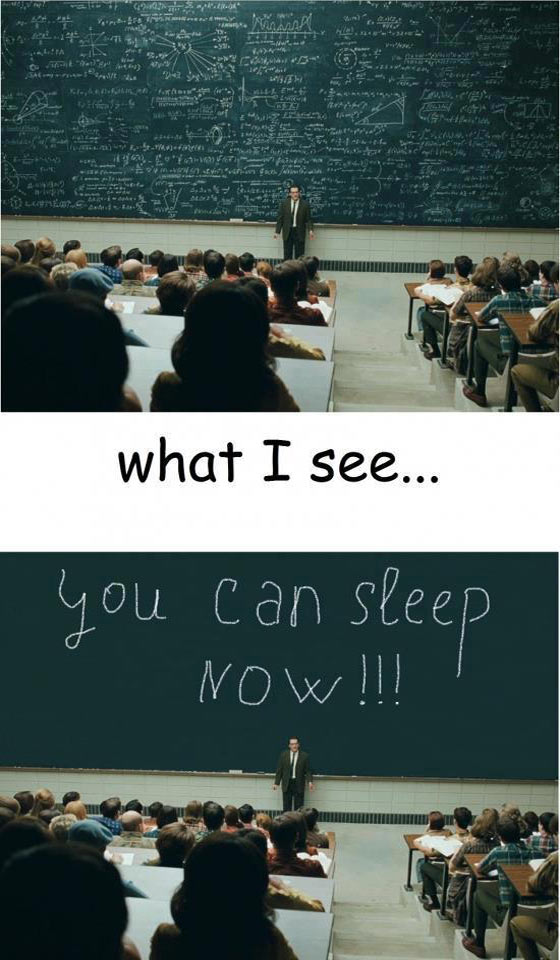 You Can Sleep Now - Funny Images Of Class Room