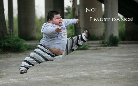 No! I Must Dance - Funny Fat Dancer Kid Will Blow Your Mind