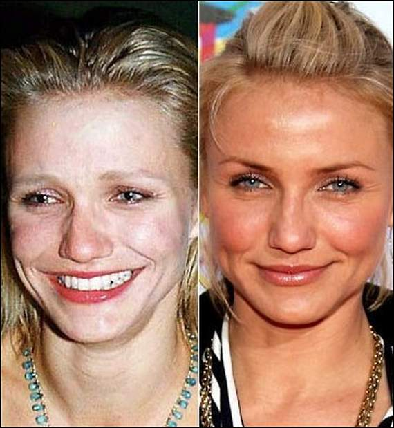 20 Hollywood Celebrities Caught Without Makeup -02