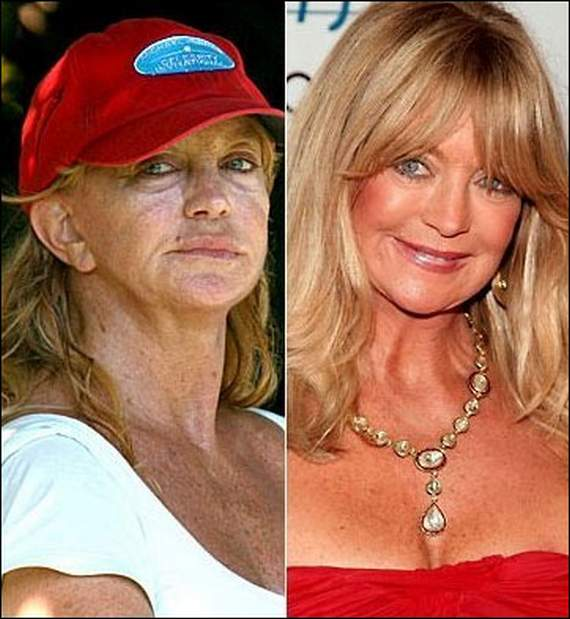 20 Hollywood Celebrities Caught Without Makeup -05