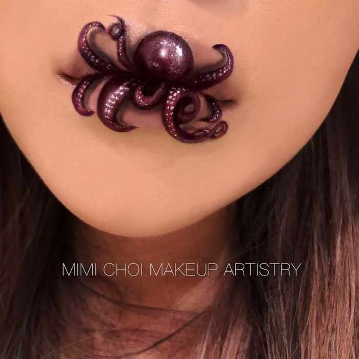 Makeup Artist Mimi Choi Optical Illusions on Herself Will Blow Your Mind - 35 Pics-04