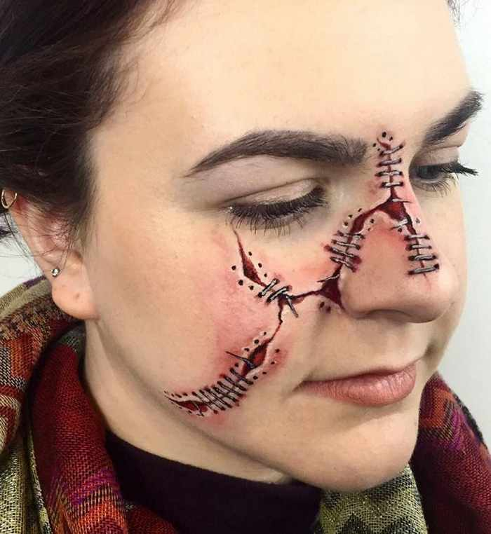 Makeup Artist Mimi Choi Optical Illusions on Herself Will Blow Your Mind - 35 Pics-20