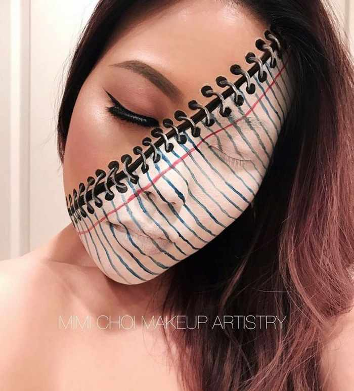 Makeup Artist Mimi Choi Optical Illusions on Herself Will Blow Your Mind - 35 Pics-26
