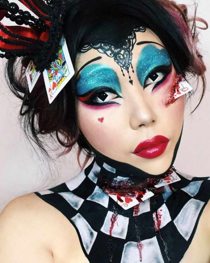 Makeup Artist Mimi Choi Optical Illusions on Herself Will Blow Your Mind - 35 Pics-29