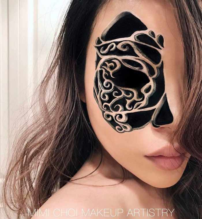 Makeup Artist Mimi Choi Optical Illusions on Herself Will Blow Your Mind - 35 Pics-30