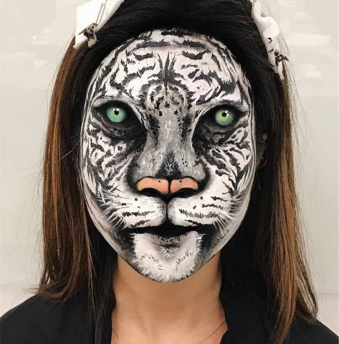 Makeup Artist Mimi Choi Optical Illusions on Herself Will Blow Your Mind - 35 Pics-32