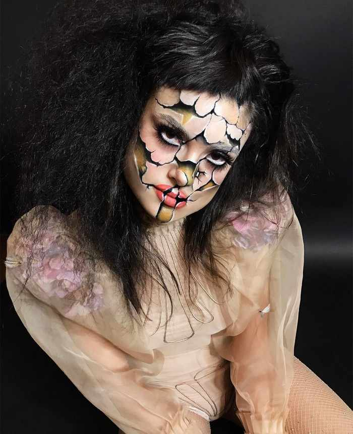Makeup Artist Mimi Choi Optical Illusions on Herself Will Blow Your Mind - 35 Pics-35