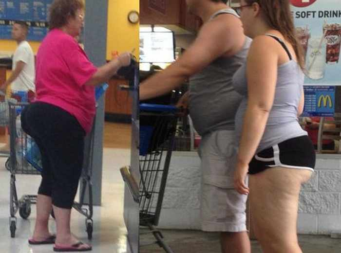 Meanwhile Funny People Of Walmart - 45 Pics -01