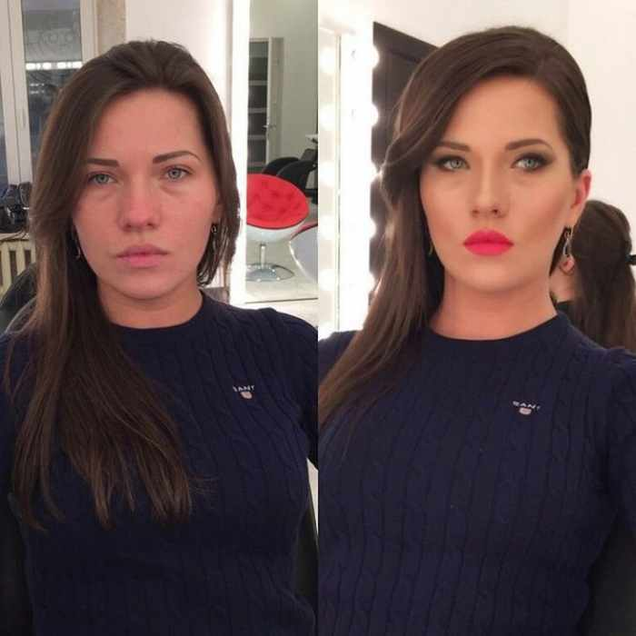 30 Photos That Show How Powerful Makeup Is -04