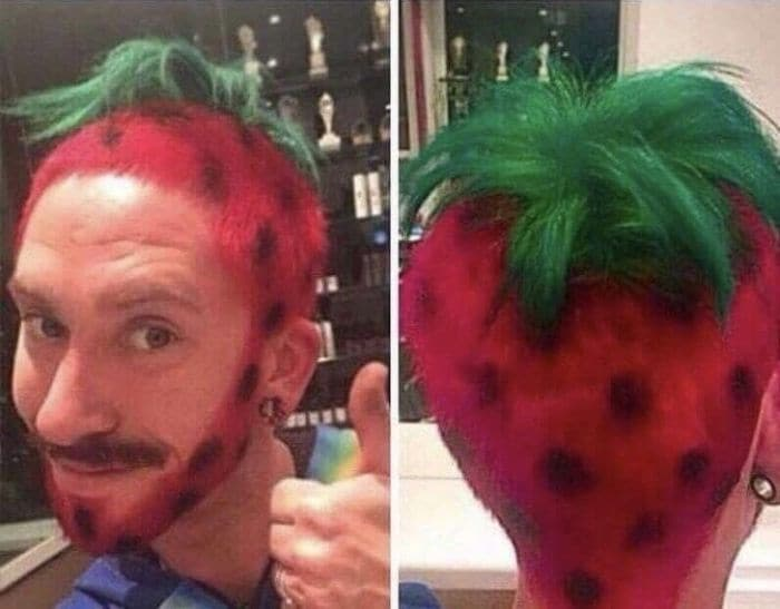 19 Funny Pics of Weird Hairstyles That Are Totally Ridiculous -10