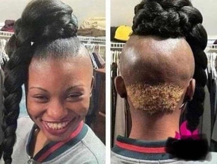 19 Funny Pics of Weird Hairstyles That Are Totally Ridiculous -12