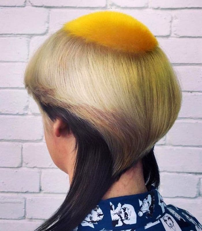 19 Funny Pics of Weird Hairstyles That Are Totally Ridiculous -13